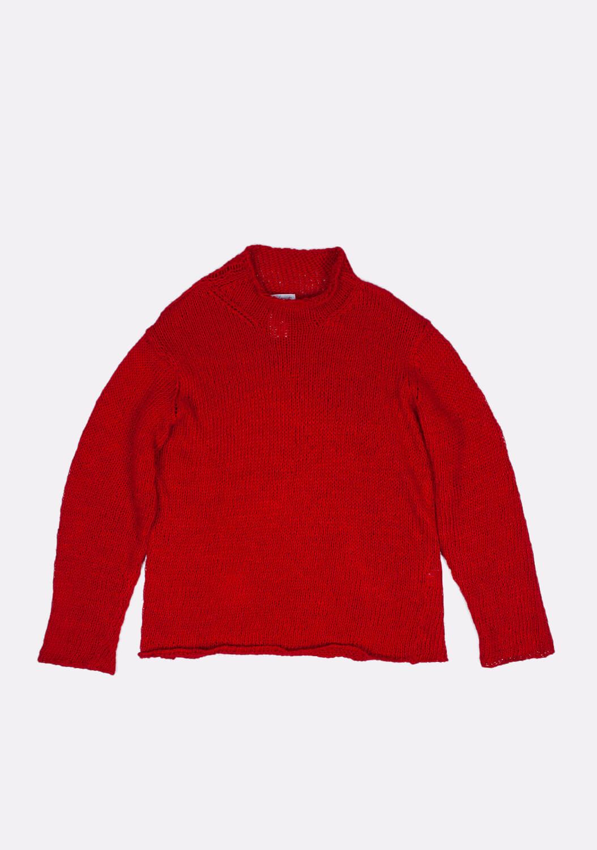 yamamto-raudonas-megztinis