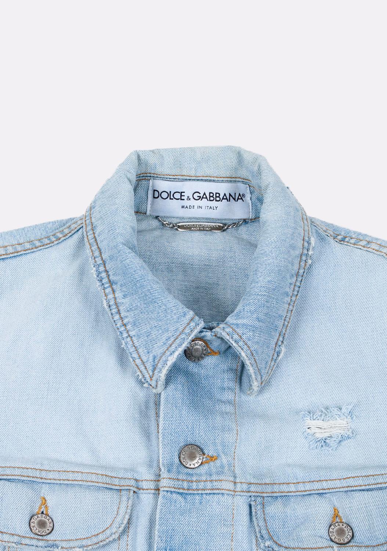 Dolce&Gabbana-sviesiai-melynas-dzinsinis-svarkas-su kisenėmis-bei-apykakle-L (3)