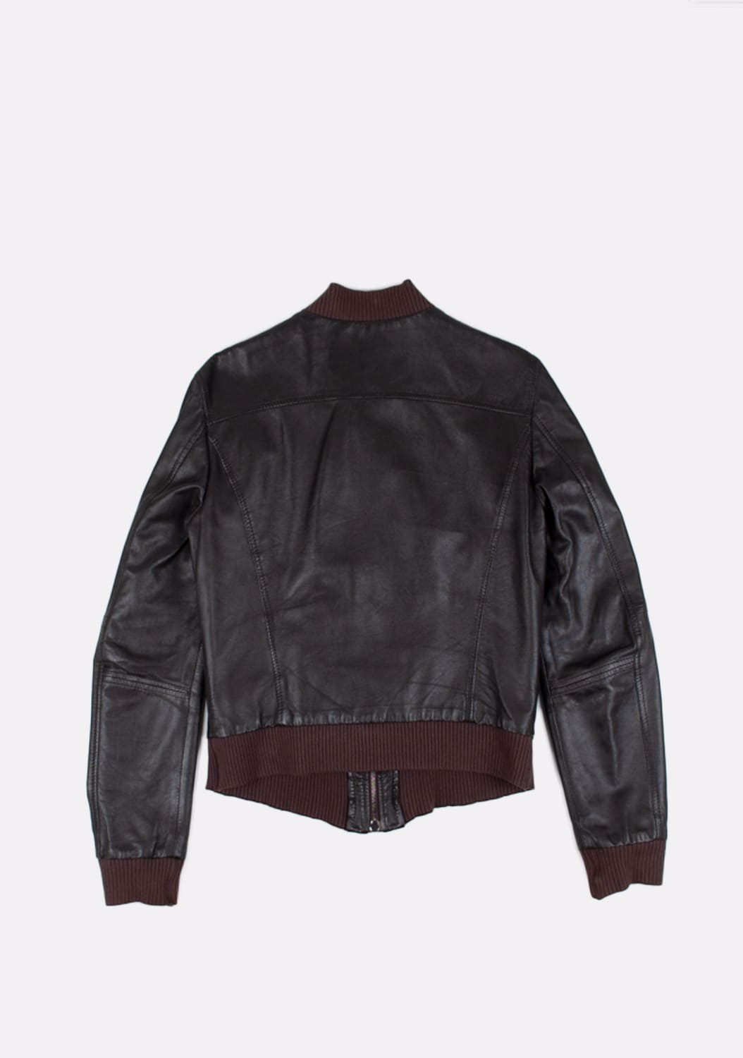 Dolce&Gabbana-Leather-Bomber-Men-Jacket-Size 46-ITA-urocklt (3)