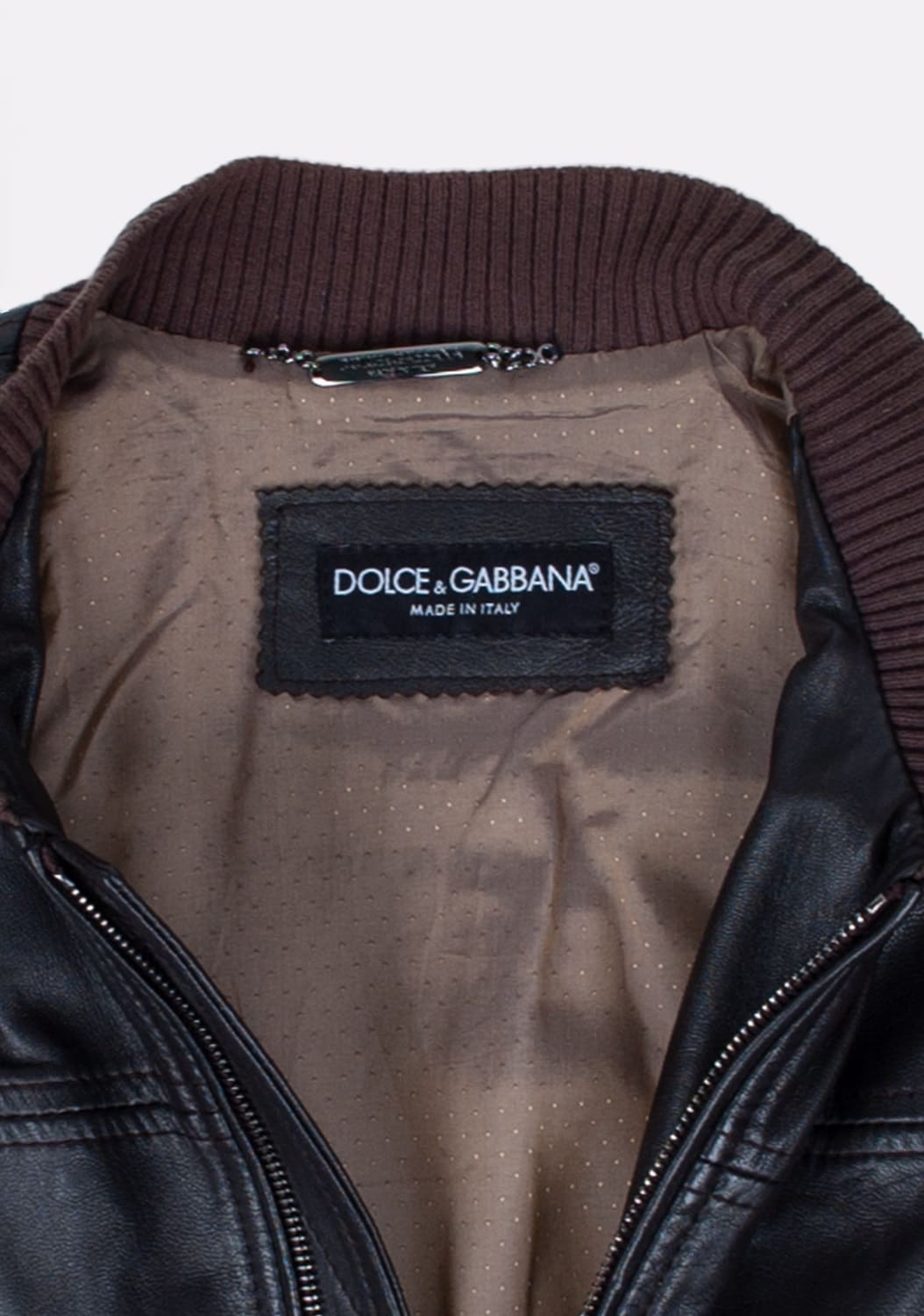 Dolce&Gabbana-Leather-Bomber-Men-Jacket-Size 46-ITA-urocklt (5)