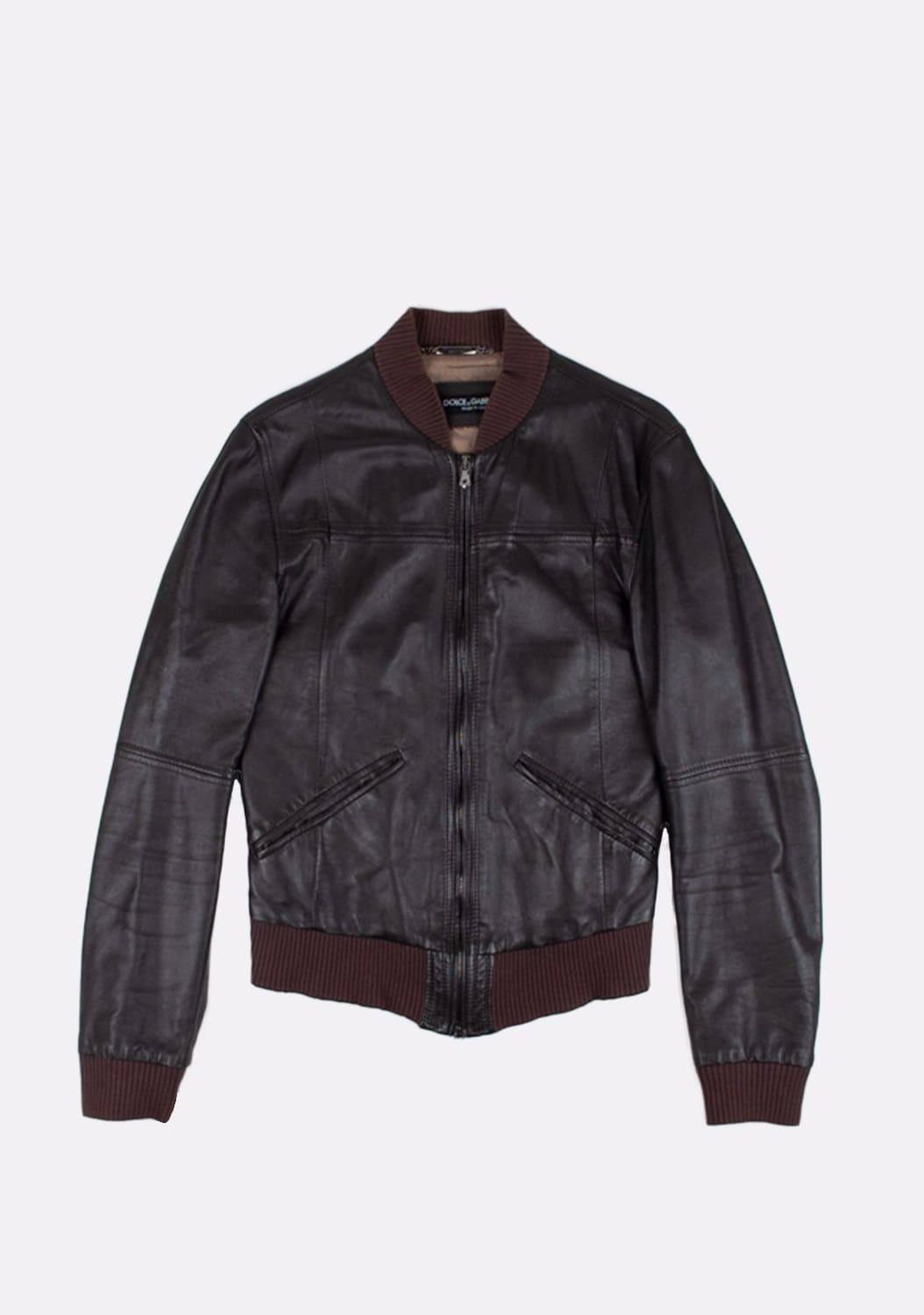 Dolce&Gabbana-Leather-Bomber-Men-Jacket-Size 46-ITA-urocklt (7)
