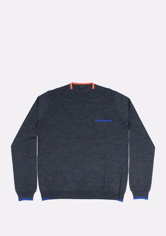 prada-pilkas-megztinis