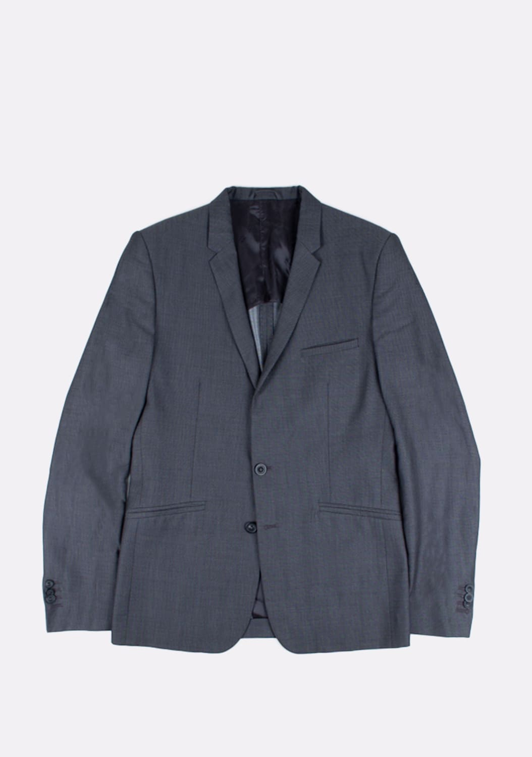 urocklt-Maison-Martin-Margiela-Jacket-Slim-Wool-Silk-Blend-Blazer-48-ITA-Grey (1)