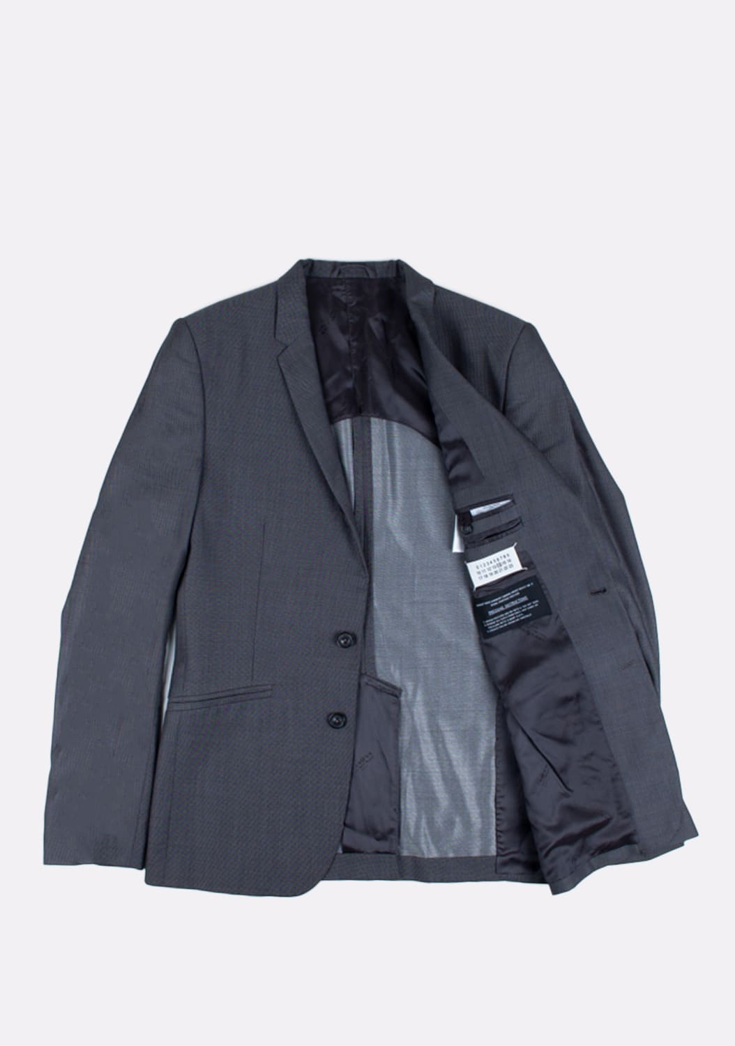 urocklt-Maison-Martin-Margiela-Jacket-Slim-Wool-Silk-Blend-Blazer-48-ITA-Grey (3)
