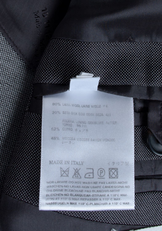 urocklt-Maison-Martin-Margiela-Jacket-Slim-Wool-Silk-Blend-Blazer-48-ITA-Grey (6)