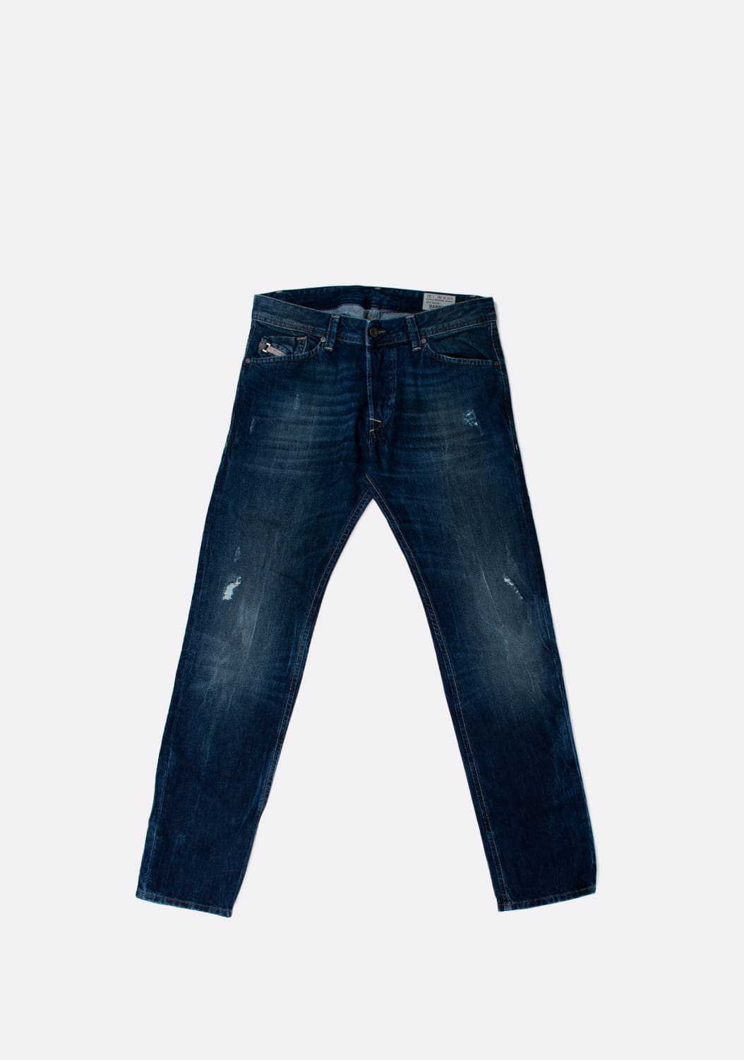 Diesel-Darron-OROLM-Regular-Slim-Tapered-melyni-dzinsai-dydis-30-32 (2)