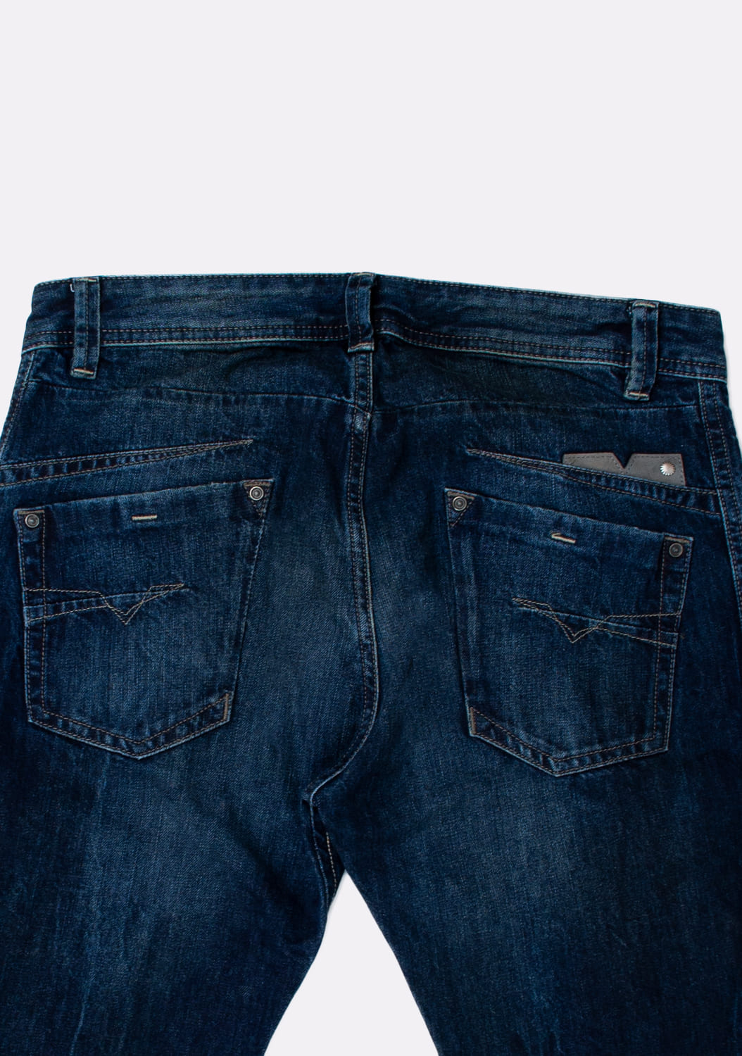 Diesel-Darron-OROLM-Regular-Slim-Tapered-melyni-dzinsai-dydis-30-32 (5)
