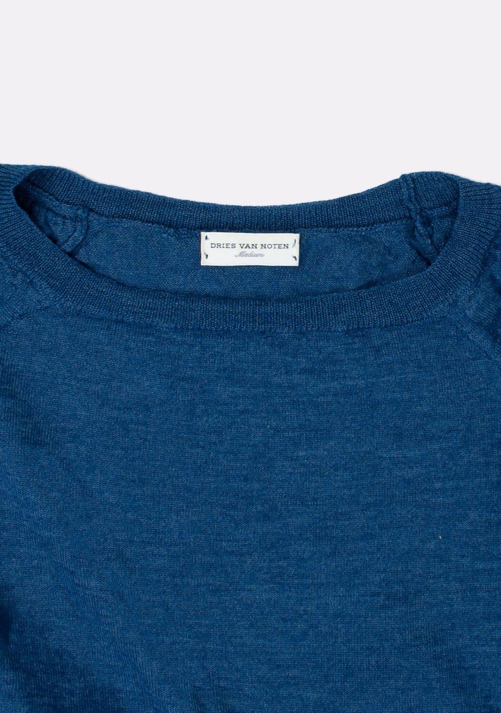 dries-van-noten-melynas-megztinis-dydis-M (2)