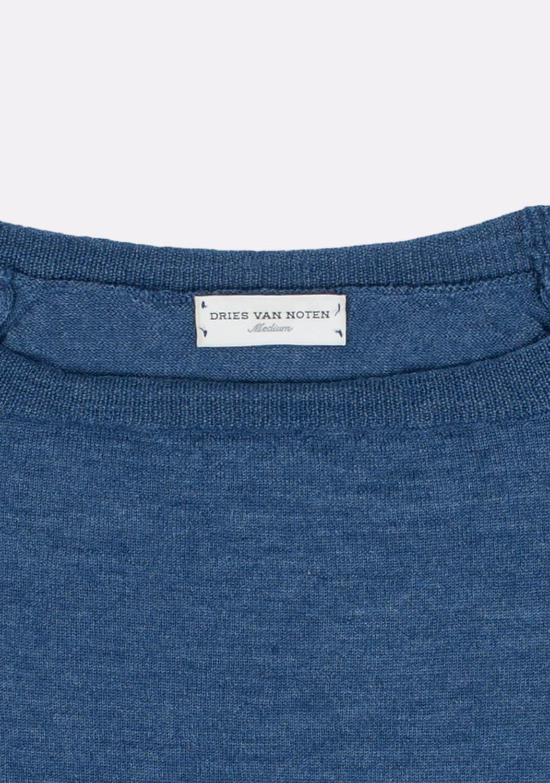 dries-van-noten-melynas-megztinis-dydis-M (4)