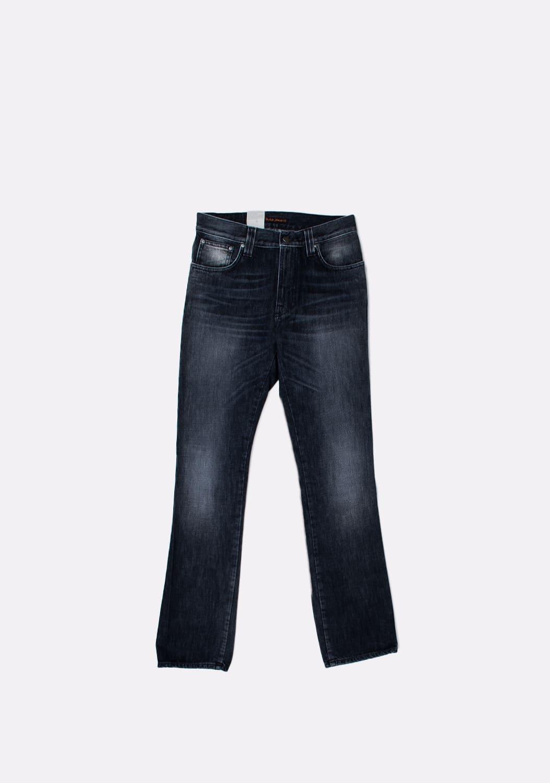 Nudie-Jeans-Slim-Jim-Org -melyni-dzinsai-dydis-32-34 (2)