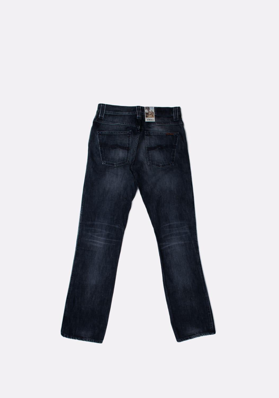 Nudie-Jeans-Slim-Jim-Org -melyni-dzinsai-dydis-32-34 (4)