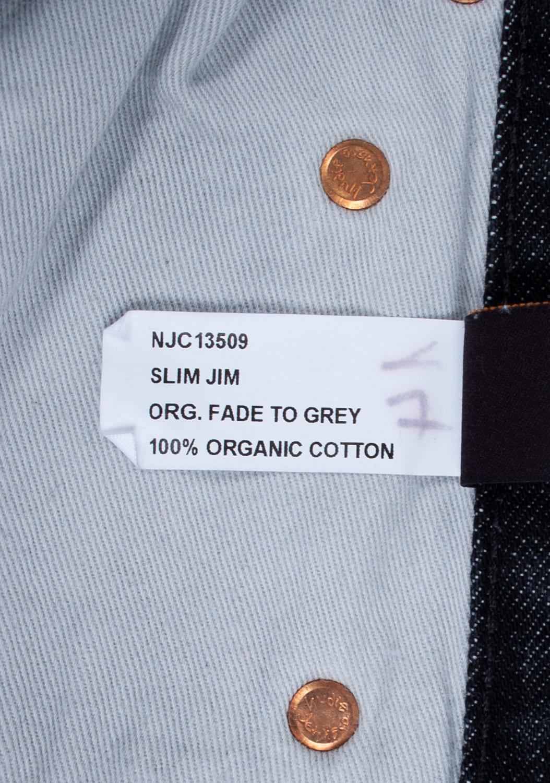 Nudie-Jeans-Slim-Jim-Org -melyni-dzinsai-dydis-32-34 (7)
