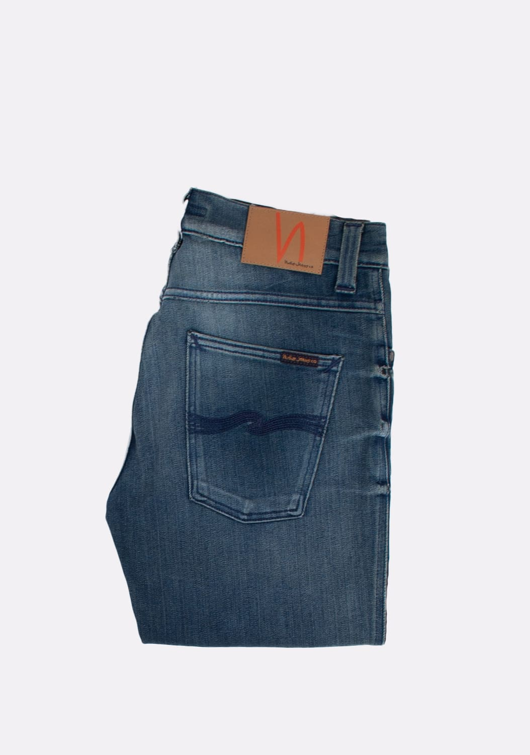 Nudie-Jeans-Slim-Jim-Scraped-melynai-pilki-Straight-dzinsai-dydis-32-34 (1)