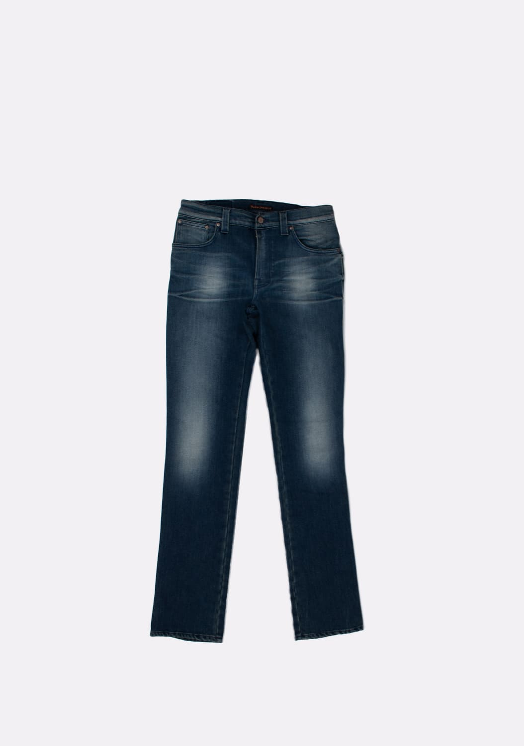 Nudie-Jeans-Slim-Jim-Scraped-melynai-pilki-Straight-dzinsai-dydis-32-34 (2)