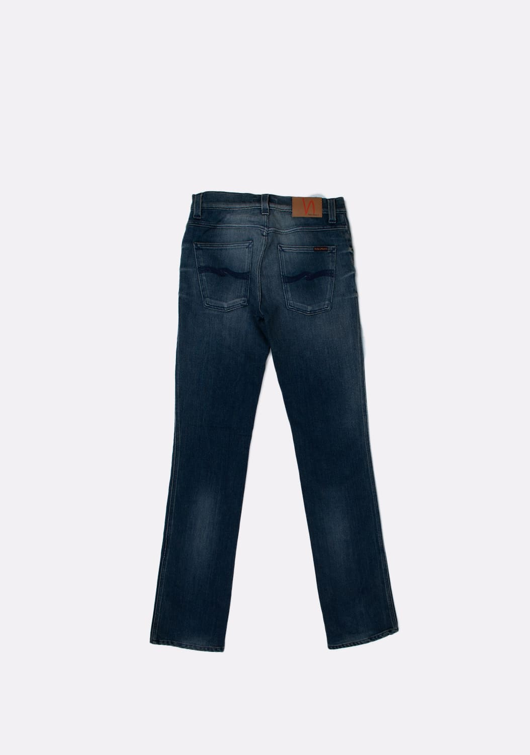 Nudie-Jeans-Slim-Jim-Scraped-melynai-pilki-Straight-dzinsai-dydis-32-34 (4)