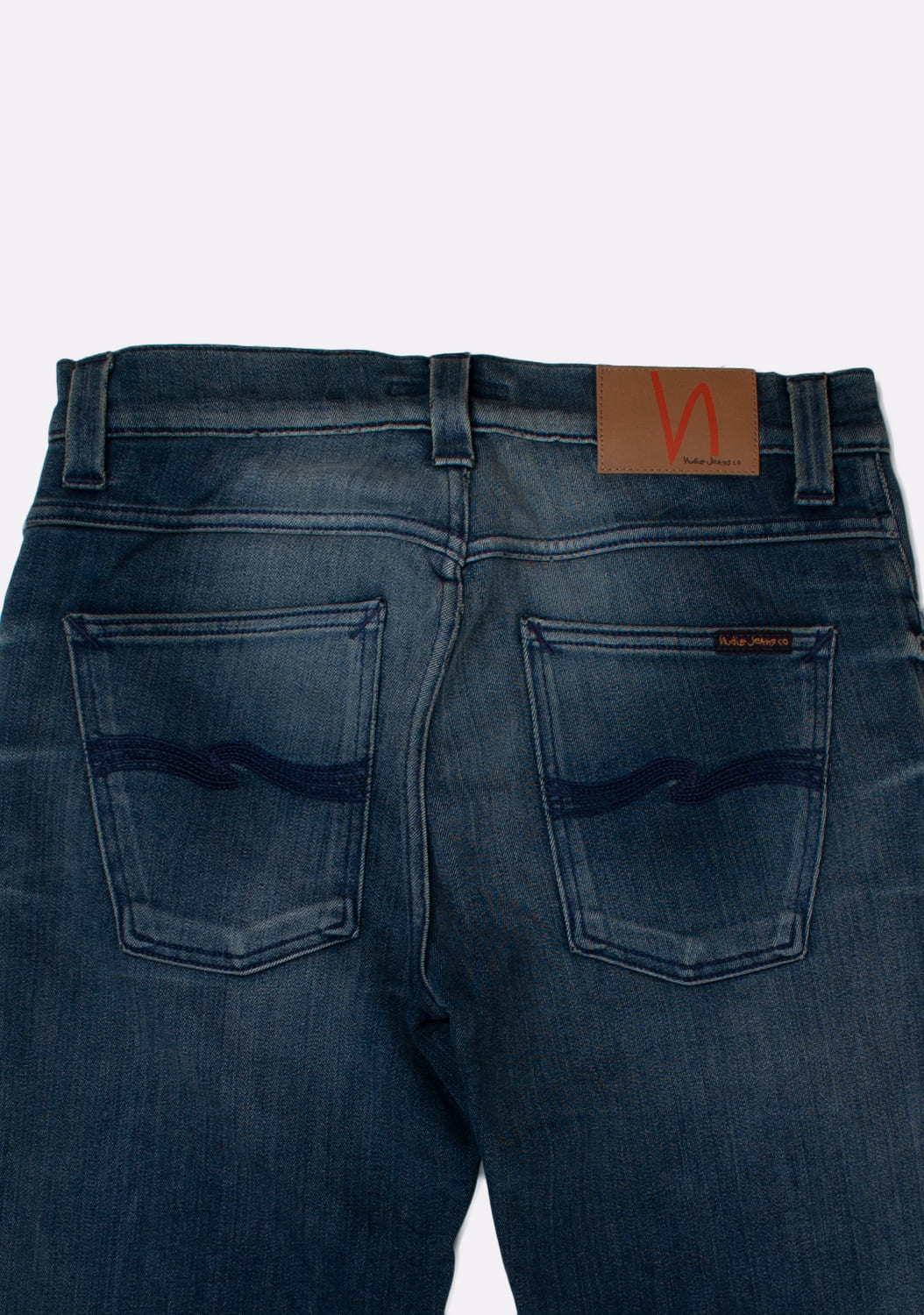 Nudie-Jeans-Slim-Jim-Scraped-melynai-pilki-Straight-dzinsai-dydis-32-34 (5)
