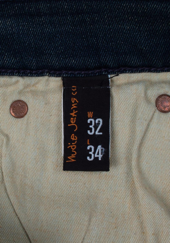 Nudie-Jeans-Slim-Jim-Scraped-melynai-pilki-Straight-dzinsai-dydis-32-34 (6)