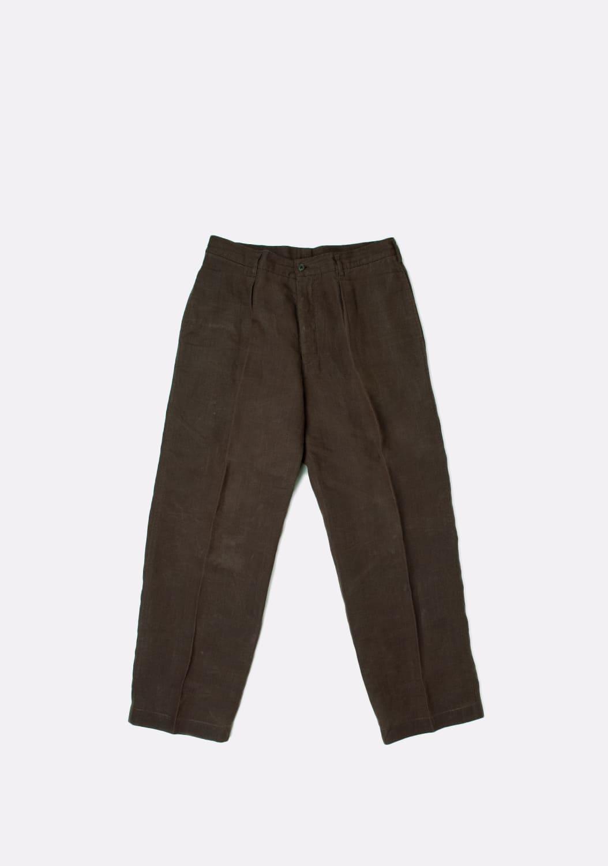 yohji-yamamoto-khaki-kelnes-dydis-31-32 (1)